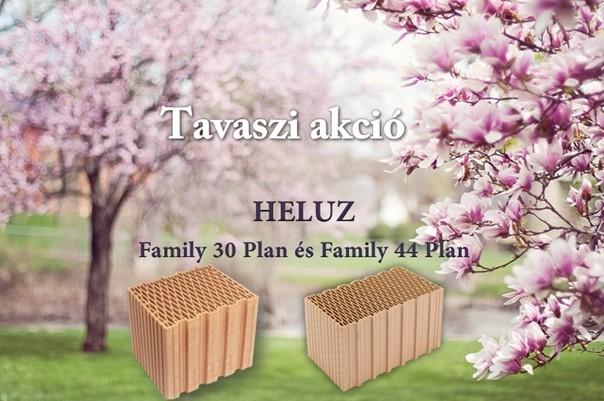 HELUZ tégla tavaszi akció - NOBORE Kft. - nobore.hu